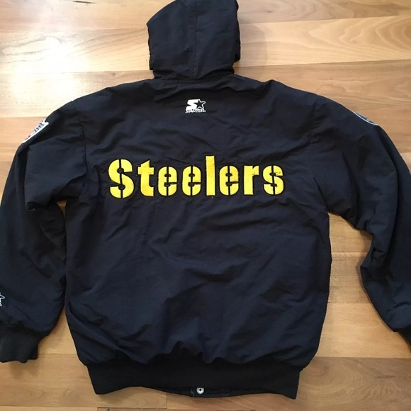 los angeles d8ba8 610d6 Pittsburgh Steelers Starter Jacket 90's Vintage
